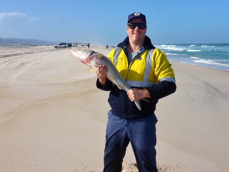davo landed salmon yeagarup beach