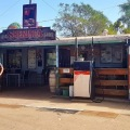 sheringa general store drinking beer