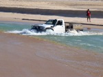 warren river mouth vehicle crossing