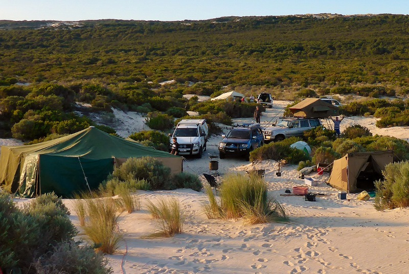 yeagarup beach camp