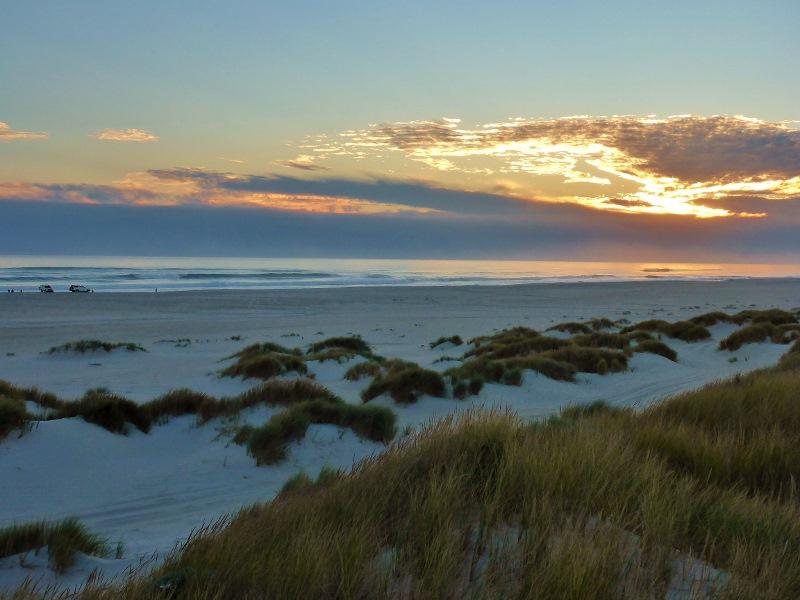 yeagarup beach sunset